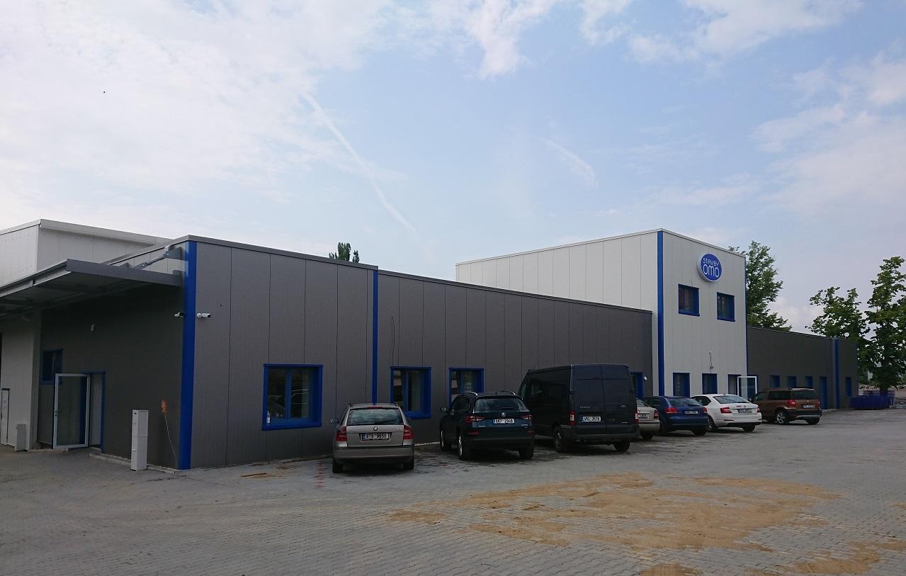 Přestavba kasáren na výrobní areál